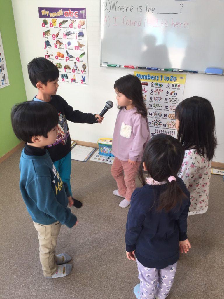4歳~6歳児クラス(園児)「言語習得能力の高い時期」